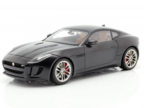 Jaguar F-Type R Coupe Year 2015 matt black 1:18 AUTOart