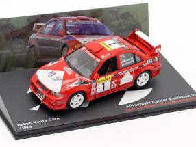 Mitsubishi Lancer Evo VI #1 Winner Rallye Monte Carlo 1999 Mäkinen, Mannisenmäki 1:43 Altaya