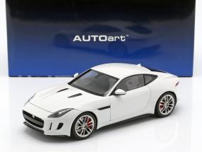 Jaguar F-Type R Coupe Baujahr 2015 weiß 1:18 AUTOart