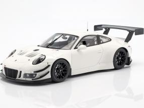Porsche 911 (991) GT3 R Plain Body year 2018 white 1:18 Minichamps