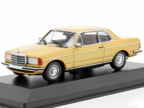 Mercedes-Benz 230CE (W123) Baujahr 1976 gold metallic 1:43 Minichamps