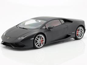 Lamborghini Huracan LP610-4 Baujahr 2014 matt schwarz 1:12 AUTOart
