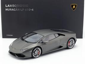 Lamborghini Huracan LP610-4 Year 2014 titanium matt gray 1:12 AUTOart