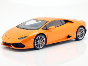 Lamborghini Huracan LP610-4 Year 2014 borealis orange 1:12 AUTOart