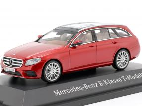 Mercedes-Benz E-Klasse T-Modell S213 AMG line hyazinth red metallic 1:43 Kyosho MB