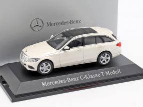 Mercedes-Benz C-Klasse T-Model diamond white metallic bright 1:43 Norev