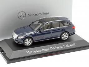 Mercedes-Benz C-Klasse T-Model Cavansit blue metallic 1:43 Norev