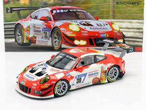 Porsche 911 (991) GT3 R #30 24h Nürburgring 2018 Frikadelli Racing 1:18 Minichamps