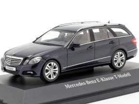 Mercedes-Benz E-class T-Modell tansanit blue 1:43 Schuco