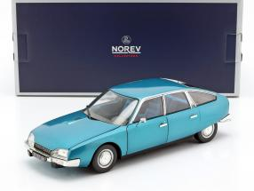 Citroen CX 2000 year 1974 Delta blue metallic 1:18 Norev