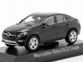 Mercedes-Benz GLE coupe (C292) year 2015 black 1:43 Norev
