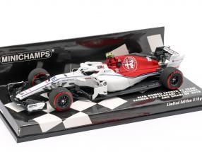 Charles Leclerc Sauber C37 #16 Abu Dhabi GP formula 1 2018 1:43 Minichamps