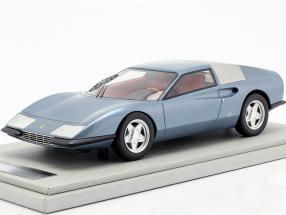 Ferrari P6 Pininfarina prototype Construction year 1968 blue metallic 1:18 Tecnomodel