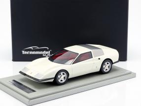 Ferrari P6 Pininfarina prototype year 1968 white metallic 1:18 Tecnomodel