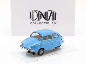 Fuldamobil S6 year 1956 blue 1:18 DNA Collectibles