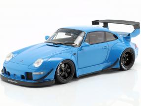 Porsche 911 (993) RWB blue 1:18 GT-SPIRIT