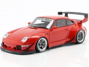 Porsche 911 (993) RWB red 1:18 GT-SPIRIT