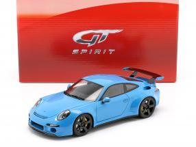 Porsche 911 (991) RUF RTR Baujahr 2015 blau 1:18 GT-SPIRIT