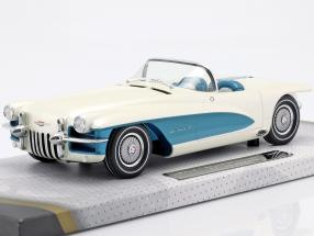 LaSalle II Roadster Concept MY 1955 GM White / Blue 1:18 Minichamps