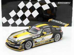 Mercedes-Benz SLS AMG GT3 #36A Winner 12h Bathurst 2013 1:18 Minichamps