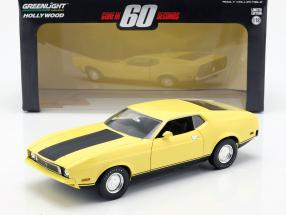 Ford Mustang Mach 1 Eleanor Movie Gone in 60 Seconds 1974 yellow 1:18 Greenlight
