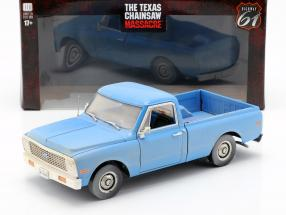 Chevrolet C-10 Movie The Texas Chainsaw Massacre 1974 blue 1:18 Greenlight