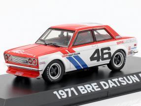 Bre Datsun 510 #46 Brock Racing Enterprises 1:43 Greenlight
