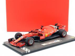 S. Vettel Ferrari SF71H #5 50th GP Win Winner Kanada GP Formel 1 2018 1:18 BBR
