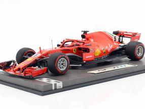 Sebastian Vettel Ferrari SF71H #5 50th GP Win Canada GP formula 1 2018 1:18 BBR