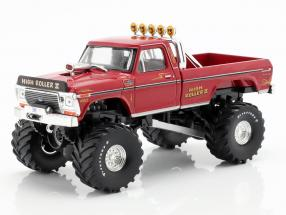 Ford F-250 Monster Truck High Roller II year 1979 red 1:43 Greenlight