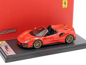 Ferrari 488 Pista Spyder year 2018 red 1:43 LookSmart