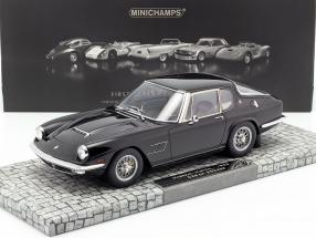 Maserati Mistral Year 1963 black 1:18 Minichamps