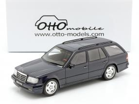 Mercedes-Benz S124 AMG E36 Ph3 year 1995 dark blue 1:18 OttOmobile