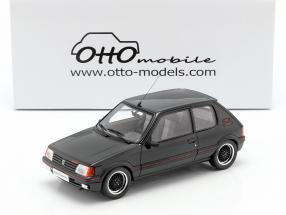 Peugeot 205 GTI Gutmann year 1988 black 1:18 OttOmobile