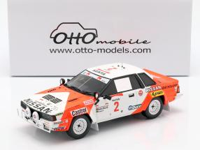 Nissan 240 RS #2 Rally Safari 1984 Mehta, Combes 1:18 OttOmobile