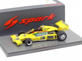 Emerson Fittipaldi Copersucar FD04 #28 4th Brazil GP formula 1 1977 1:43 Spark