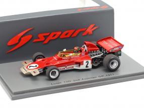 Emerson Fittipaldi Lotus 72D #2 2nd Austria GP formula 1 1971 1:43 Spark