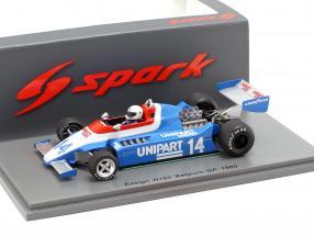 Tiff Needell Ensign N180 #14 Belgium GP formula 1 1980 1:43 Spark