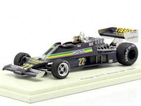 Derek Daly Ensign N177 #22 Great Britain GP formula 1 1978 1:43 Spark