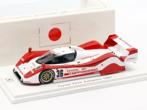Toyota TS10 #36 Autopolis 1991 Lees, Wallace 1:43 Spark