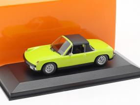 Volkswagen VW-Porsche 914/4 year 1972 green 1:43 Minichamps
