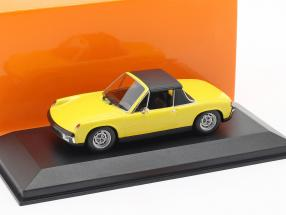 Volkswagen VW-Porsche 914/4 year 1972 yellow 1:43 Minichamps
