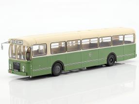 Brossel BL55 Valenciennes Bus Frankreich Baujahr 1966 1:43 olivgrün / creme Altaya