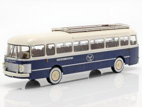 Saviem Chausson SC1 Bus Frankreich Baujahr 1960 blau / creme 1:43 Altaya
