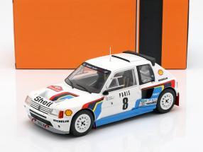 Peugeot 205 T16 #8 Rally Monte Carlo 1985 Saby, Fauchille 1:18 Ixo