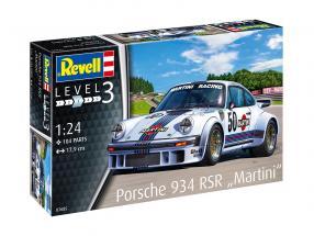 Porsche 934 RSR Martini Racing #50 kit 1:24 Revell