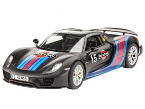 Porsche 918 Weissach Package Martini Racing Design #15 kit 1:24 Revell