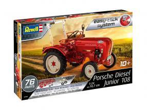 Porsche Diesel Junior 108 kit red 1:24 Revell