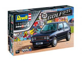 35 years of Volkswwagen VW Golf GTI Pirelli kit 1:24 Revell