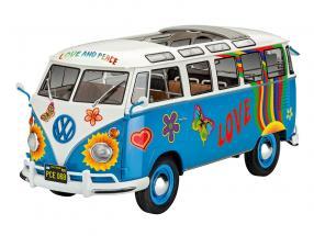 Volkswagen VW T1 Samba Bus Flower Power kit 1:24 Revell